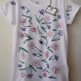 Majica Šareni cvjetovi