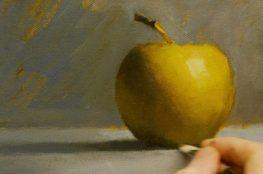 Рисиване с акрилни бои – техника светлина и сянка (снимки и видео)