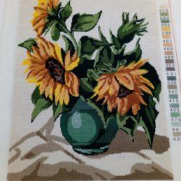 Vaza sa suncokretima